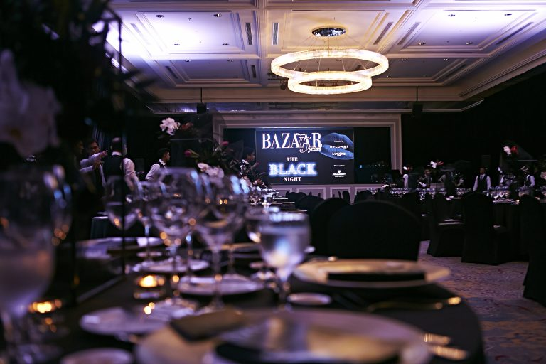 Harper's Bazaar Malaysia 15th Anniversary The Black Night